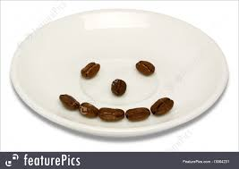 Happy Coffee Beans Royalty Free Stock Photo