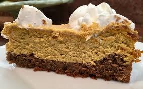 Pumpkin Layer Cheesecake by 19 Pumpkin Layer Cheesecake Recipe 21 Delicious No Bake