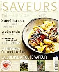 cuisine revue abonnement cuisine actuelle hs magazine journal et revue