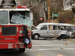 100 Fdny Fire Trucks FDNY Fire Truck Collides With Van Carrying Disabled Passengers On