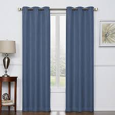 Bed Bath And Beyond Curtain Rod Rings by Window Curtains U0026 Drapes Room Darkening Noise Reducing
