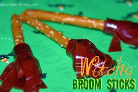 Halloween Pretzel Rods by Halloween Craft Idea Witchy Broom Sticks Made From Pretzel Rods