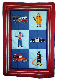 100 Fire Truck Bedding Baby Crib Vintage Engine Twin Set Caisinstituteorg
