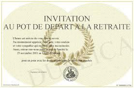 invitation au pot de depart a la retraite