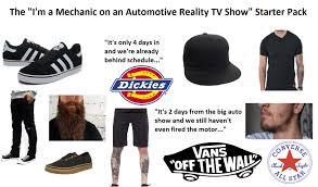 I'm A Mechanic On A TV Show!