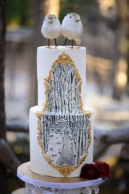 Pine Rose Cabins Wedding Hansel And Gretel Cake
