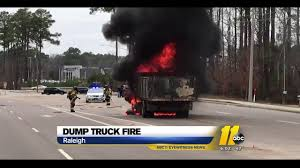 100 Two Men And A Truck Durham Men Escape Burning Dump Truck In Raleigh Abc11com