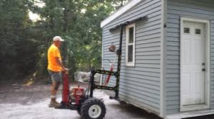 Mule 4 Shed Mover by Mainus Construction Waterford Wisconsin