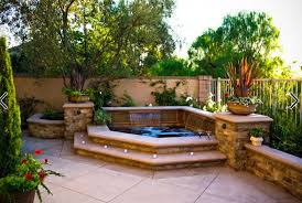 Backyard 'spool' Hot Tub/pool For Downward Slope In Backyard ... Keys Backyard Jacuzzi Home Outdoor Decoration Fire Pit Elegant Gas Pits Designs Landscaping Ideas With Hot Tub Fleagorcom Multi Level Deck Design Tub Enchanting Small Tubs Images Spool Hot Tubpool For Downward Slope In Backyard Patio Firepit And Round Shape White Interior Color Above Ground Patios Magnificent With Inspiration House Photo Outside