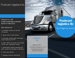 100 Trucking Quotes Service In All 50 US States By Pushcart Logistics Llc In