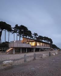 100 Architects Southampton The Lookout In Lepe Country Park Earchitect