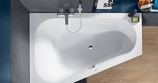 kleines bad mit badewanne was ist möglich villeroy boch