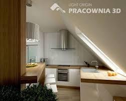Attic Kitchen Ideas Attic Kitchen Modern Design Style Design Attic