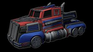 100 Optimus Prime Truck Model Firestorm Mode By Galvanitro On DeviantArt