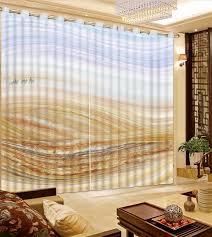 große wüste gardinen moderne wohnzimmer vorhänge blackout fenster vorhang für kinder polyester cottom 2 stücke vorhänge