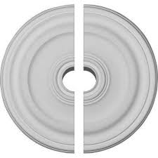 Small Two Piece Ceiling Medallions by Ceiling Medallions Moulding U0026 Millwork The Home Depot