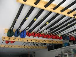 diy fishing rod rack ceiling do it your self