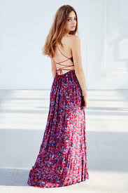 the perfect maxi strapless and strapped summer dress outfitsbible