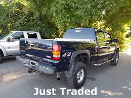 2005 Used GMC Sierra 2500HD SLT At Country Diesels Serving Warrenton ... Coeur Dalene Used Gmc Sierra 1500 Vehicles For Sale Smithers 2015 Overview Cargurus 2500hd In Princeton In Patriot 2017 For Lynn Ma 2007 Ashland Wi 2gtek13m1731164 2012 4wd Crew Cab 1435 Sle At Central Motor Grand Rapids 902 Auto Sales 2009 Sale Dartmouth 2016 Chevy Silverado Get Mpgboosting Mildhybrid Tech Slt Chevrolet Of