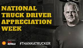 Shell Rotella Celebrates National Truck Driver Appreciation Week ... Celebrating Drivers During Truck Driver Appreciation Week Sept 9 National Eagle Cadian On Twitter Its Enterprises Celebrates Shell Rotella Nz Trucking Tmaf To Launch Campaign Imagine Youtube Ats Game American Service One Transportation