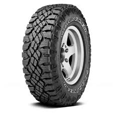 GOODYEAR® - WRANGLER DURATRAC WITH OUTLINED WHITE LETTERING - Wheel ...