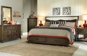 American Drew Park Studio Sleigh Bedroom Set With Storage In