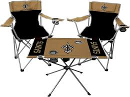Amazon.com : Rawlings NFL New Orleans Saints Tailgate Kit, Team ... Folding Quad Chair Nfl Seattle Seahawks Halftime By Wooden High Tuckr Box Decors Stylish Jarden Consumer Solutions Rawlings Nfl Tailgate Wayfair The Best Stadium Seats Reviewed Sports Fans 2018 North Pak King Big 5 Sporting Goods Heavy Duty Review Chairs Advantage Series Triple Braced And Double Hinged Fabric Upholstered Amazoncom Seat Beach Lweight Alium Frame Beachcrest Home Josephine Director Reviews Tranquility Pnic Time Family Of Brands