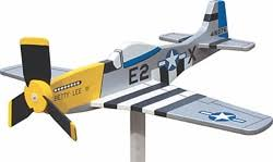 airplane whirligig mustang p 51 woodwo woodworking plans and