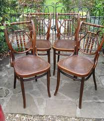 Lyre Back Chairs Antique by Set Of Four Lyre Back Bentwood Chairs C1900 279104