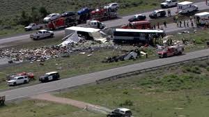 Semi-truck Crashes Into Greyhound Bus - CNN Video Coal Truck Wreck On Lens Creek Has Neighbors Demanding Action Full Of Dominos Pizza Dough Crashes Rises Across Road 1 Student Killed After Into Indiana School Bus Time Train Crashes Fedex Truck Cnn Video Accidents During The Holidays Gauge Magazine Love Those 11foot8 Bridge Videos Tacoma Has Its Own Can Dump Crash In San Jacinto Tx Autoweek Southwest Airlines Plane At Bwi News 5 Cleveland Fire Dairy Queen North Texas Abc13com Boat Smashes Into That Was Towing It Rusty Wrecks Forest Pripyat Chernobyl Nuclear