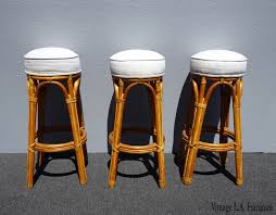 Three Vintage French Country White Bamboo Bar Stools Tiki ... French Style Bar Stools French Country Cottage Sunny Designs Bourbon County Country Fxible Bar Handcrafted In North America Kitchen And Ding Room Canadel Ding Room Fniture Style 1825 Interiors Three Vintage White Bamboo Stools Tiki Country Pub Height Set 549 Buy 3pc Island Decor Decorating Ideas Fausto 30 Stool Trail 3 Piece Set With Bernhardt
