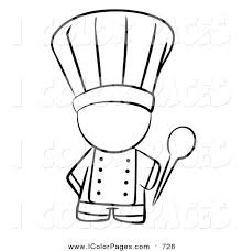 Chef Coloring Pages 35
