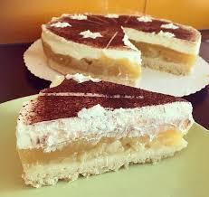 apfel sahne torte mit puddingfüllung eluni einfach schön
