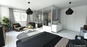 chambre avec bain chambre salle de bain propositions aménagement maison travaux