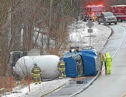 Propane Trucks Flips Over On Storm-slickened Road - Facts Mania ... Long Island Fire Chief Involved In A Crash With Propane Truck One Injured In Propane Tanker Rollover On Hwy 61 Monday Local Update Marlborough Route Remains Closed After Propane Truck Leak Trinidad Man Dies High Speed Crash Krtn Enchanted Air Radio Truck Accident Seriously Injures One Fuel Leak Forces Coroner Ids Victim Of Near New Tripoli Wfmz Breaking Crash With Big Rig At Cedarconejo Fresno I40 Oklahoma Blocked After Leads To Fire Viral Video Explodes Highway Insane Fireball Twovehicle Flips Totals Car Closes Alba Crashes Into Port Deposit Condo Comples Driver