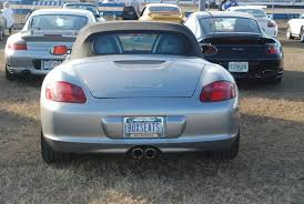 Porsche Vanity Plates