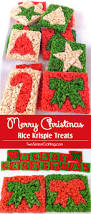 Rice Krispie Christmas Tree Pops by Merry Christmas Rice Krispie Treats Two Sisters Crafting
