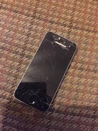 iPhone 5s broken screen sfs
