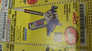 Aluminum Floor Jack 3 Ton by Harbor Freight Tools Coupon Database Free Coupons 25 Percent