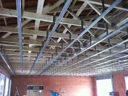 pose rail placo plafond pose placo plafond sur rail excellent decoration with pose placo