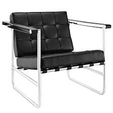 Serene Stainless Steel Upholstered Vinyl Lounge Chair Black By Modway Inspiring Vinyl Lounge Chair Delightful Baby Head Looped Webbing Home Styles Laguna Black Woven And Metal Patio Charles Eames Chairs Baughman Walnut And Black Vinyl Lounge Chair Chaise Brown Jordan Tami Lace Mid Century Modern White Yellow Strap Recliner At Lowescom Eden Roc Swivel Club By Rausch Couture Outdoor Lloyd Flanders Low Country Wicker 77002