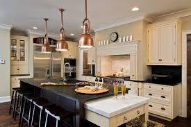 amazing copper pendant light kitchen fpudining throughout lighting