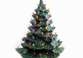 Giant Ceramic Christmas Tree 24 Inches Tall Green Colorful Inspiration Of Delivery