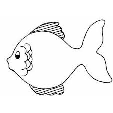 Fish Coloring Pages For Preschool