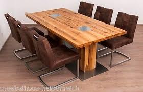 essgruppe esszimmer tisch 6 stühle wössner mod colorado