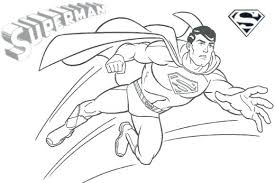 Superhero Coloring Pages Activities