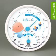 température chambre de bébé température intérieure thermomètre et hygromètre humidité chambre