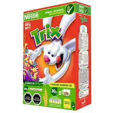 Mexican Edition Trix Cereal 2 Pack Fruit Shaped Classic 480g 17oz Each