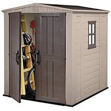 Lifetime 15x8 Shed Uk by Lifetime 7 X 4 5 Ft Heavy Duty Fully Accessorised Plastic Shed
