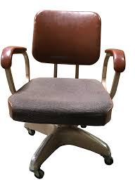 1950s Vintage Cosco Industrial Office Chair | Chairish